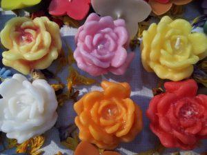 Lumanare Trandafir